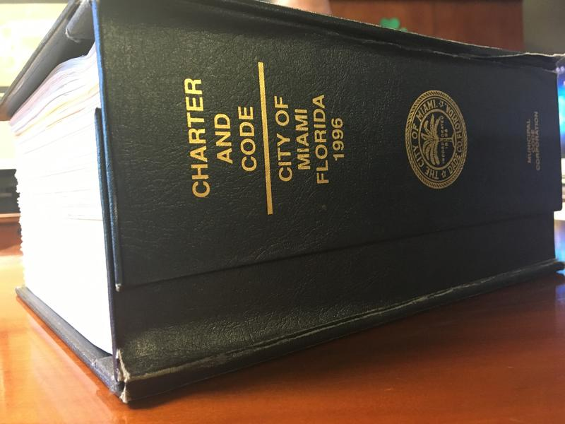 The City Of Miami Charter and Codebook