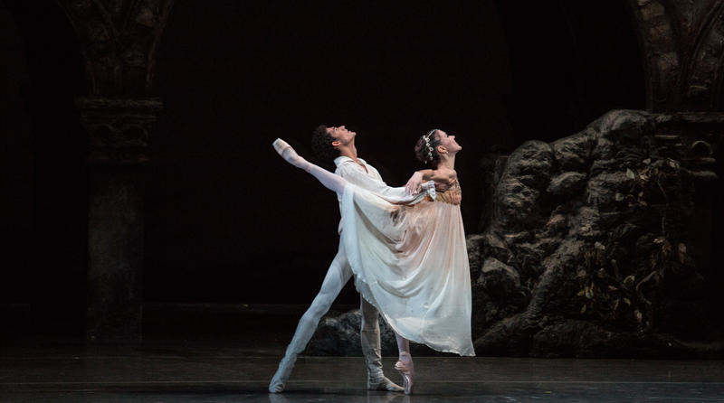 "Patricia Delgado and Renan Cerdeiro in ""Romeo and Juliet."" Delgado says she loved getting into this role, and it made her think she might want to try acting when she gets to New York."