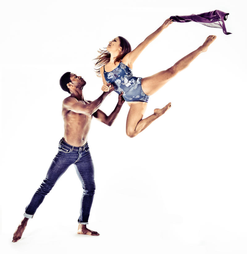 Dance Now! Miami dancers Harold Berry and Allyn Ginns Ayers.