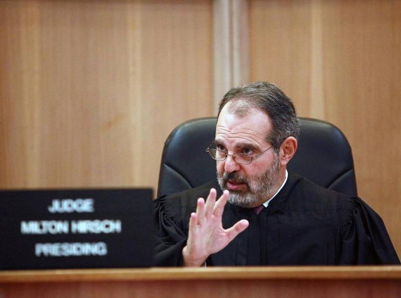 Miami-Dade Circuit Judge Milton Hirsch.