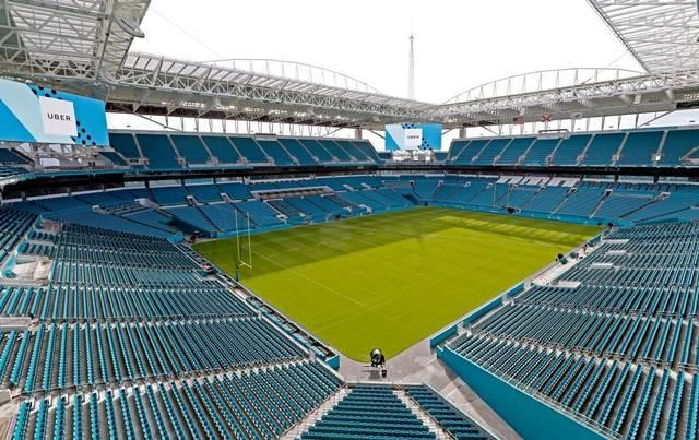 The recently renamed Hard Rock Stadium has recently undergone a $500 million renovation of the lower bowl.