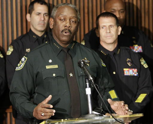 Orange County Sheriff and Florida Sheriff's Association President  Jerry Demings.