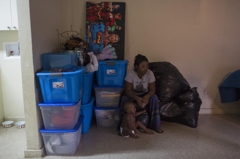 Miami-Dade County moved Louissita Chery and her family out of her old apartment after she complained mold was making her kids sick. Now the county says she owes them $1345 for damages to that apartment.