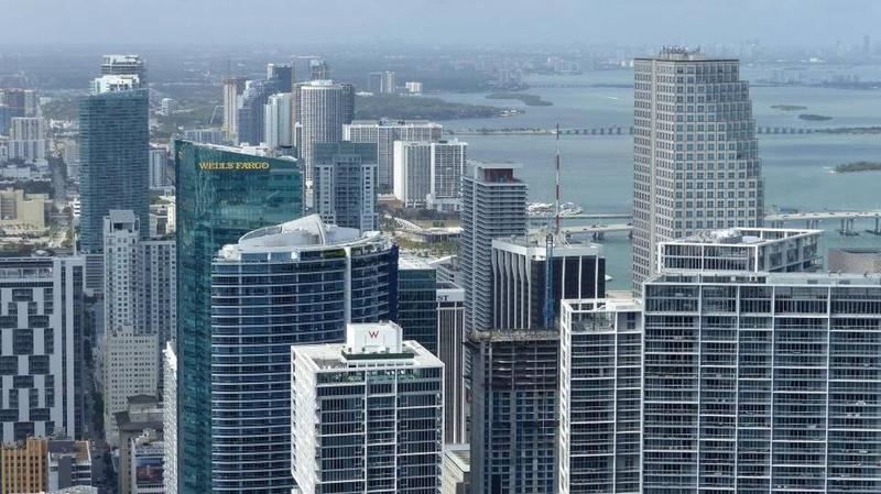 A view of the growing Miami skyline from April 12, 2017.