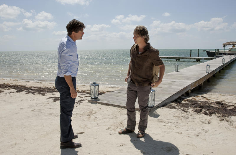 Kyle Chandler, left, and Ben Mendelsohn play brothers John and Danny Rayburn in the Keys-set series 'Bloodline.'