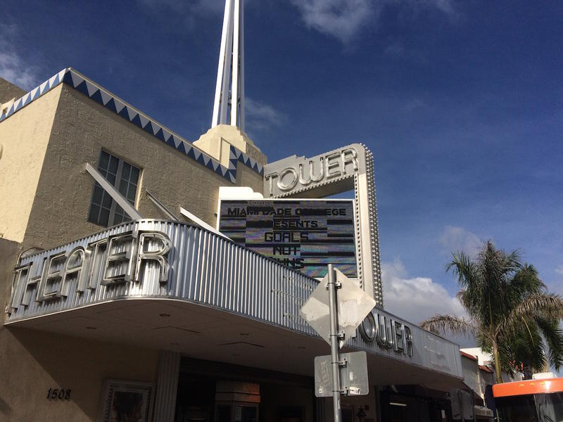 The forum was held at Miami Dade College's historic Tower Theater.