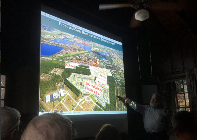 """All you're doing is further fragmenting a globally impaired habitat,"" said  Al Sunshine of the Miami Pine Rocklands Coalition about Coral Reef Commons proposal."