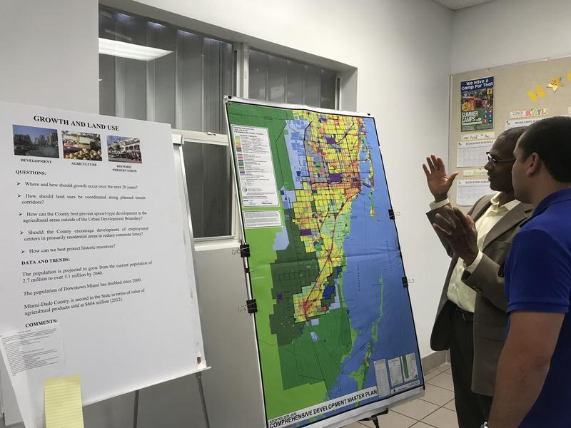 The Urban Development Boundary is among topics being discussed at public input sessions hosted by Miami-Dade County as it reviews its master development plan.