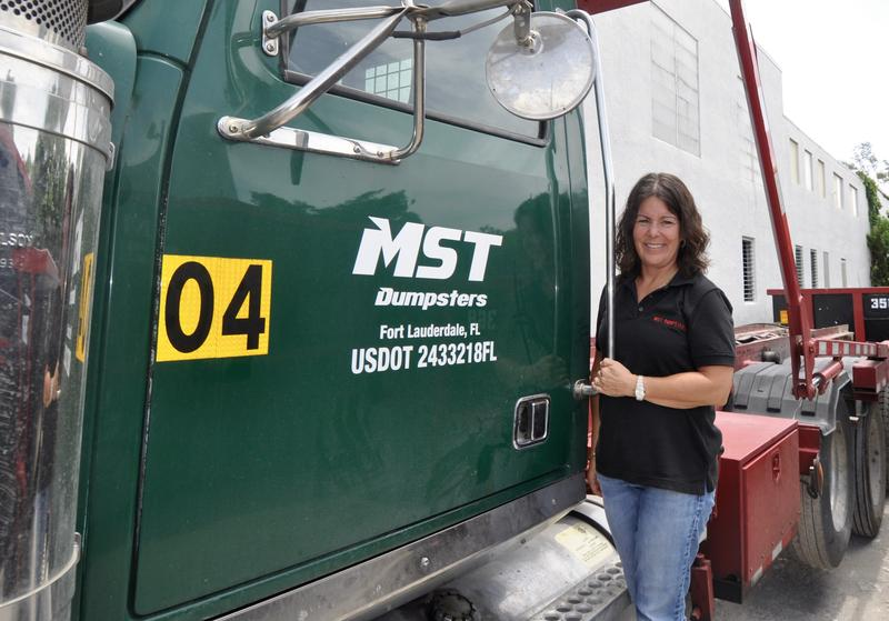 Nanci Landy began MST Dumpsters in Ft. Lauderdale a year ago with one truck and four dumpsters. She is buying her fifth truck and has 125 dumpsters. Landy expects revenue will grow more than 50 percent this year.