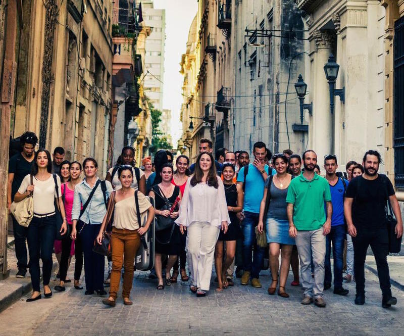 The Havana Lyceum Orchestra and Simone Dinnerstein will perform in Miami Beach Friday, June 23.