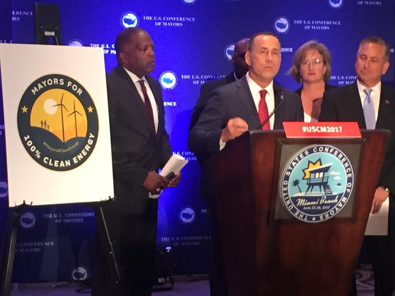 Miami Beach Mayor Philip Levine served as co-chair of the resolution