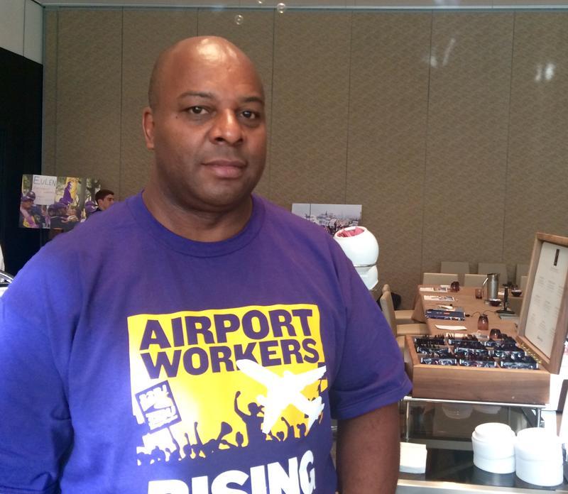Newton Ingram works at Fort Lauderdale-Hollywood International Airport.