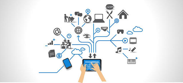 The Internet allows smart devices to communicate with each other, collectively making up the Internet of Things (IoT).