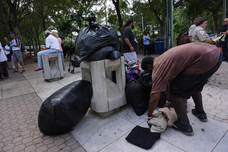 Stranahan Park Homeless Camp
