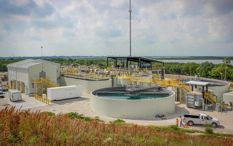 The recently completed Cudjoe Regional Wastewater Treatment Plant is the final step in upgrading sewage treatment throughout the Keys.