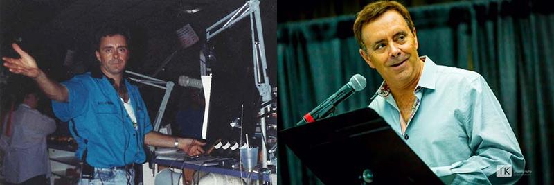 Joe Johnson in 1992 (left) and today (right).