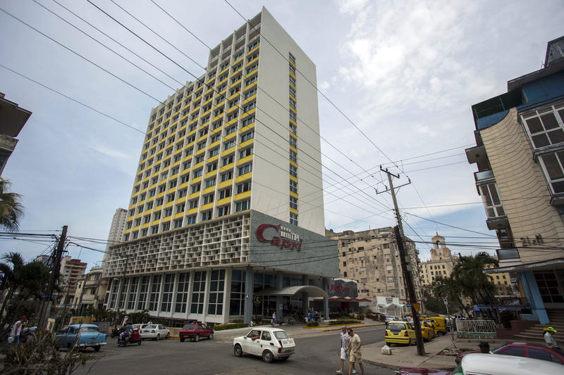 Aside from their homes, officials said American diplomats were attacked in at least one hotel, the recently renovated Hotel Capri, steps from the Malecon, Havana's iconic, waterside promenade.