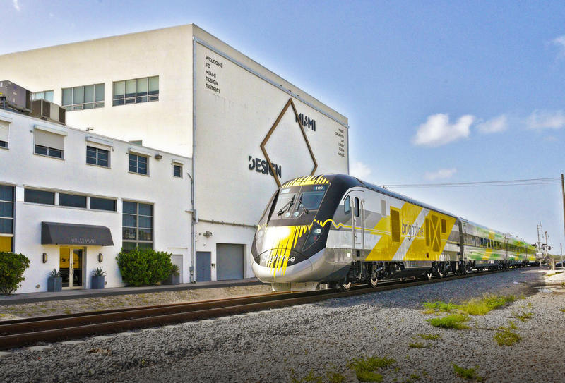 Brightline trains are making test runs from West Palm Beach to Miami, and CEO Dave Howard says passengers will be able to ride part of the route before the end of 2017.