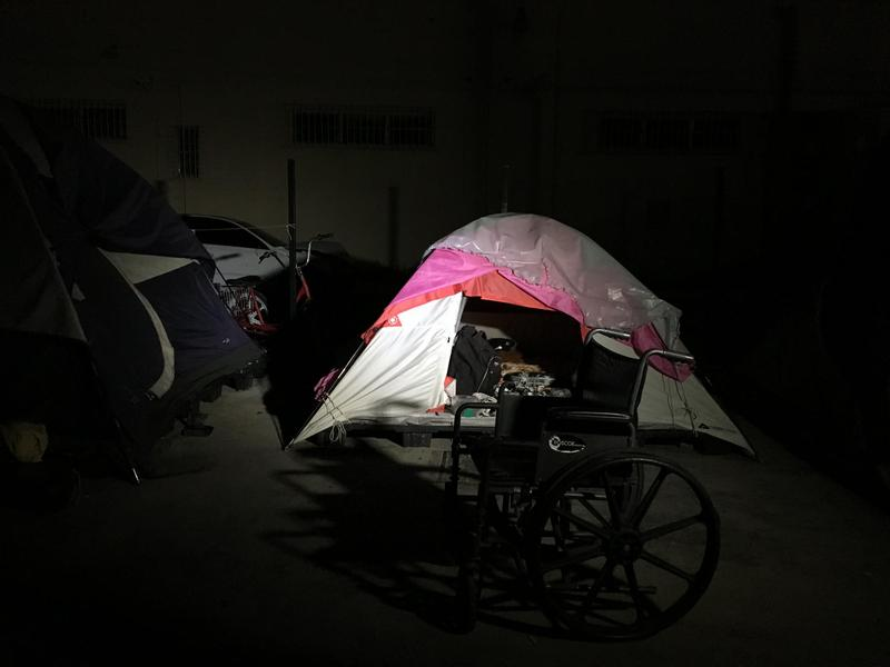 An encampment of sex offenders on the edge of Miami and Hialeah