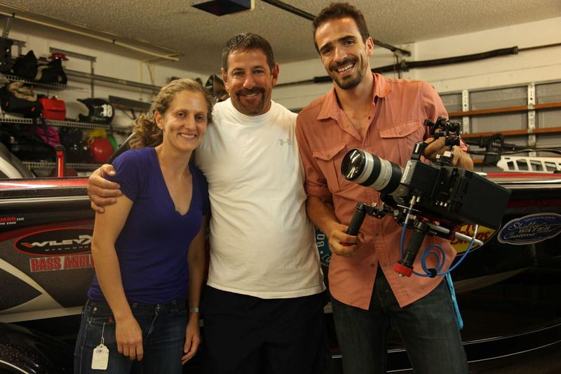 Captain Neal Stark with production crew