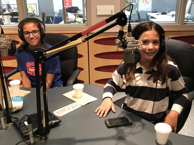 Catalina Frias (right) and her older sister Ariel Frias were participants on the Food Network's show 'Chopped Juniors.' Catalina won.