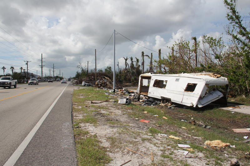 Most visitors reach Key West by driving down the Overseas Highway — where they will see evidence of the damage a Category 4 hurricane can bring.