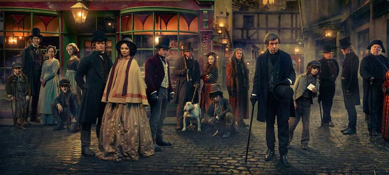 Cast of Dickensian