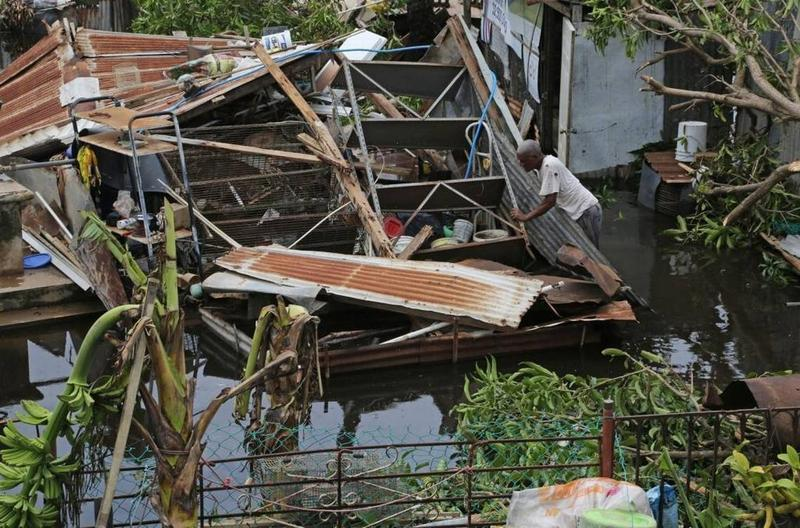 Hurricane Maria destroyed most infrastructure in Puerto Rico.