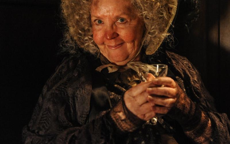 Pauline Collins as Mrs Gamp in Dickensian