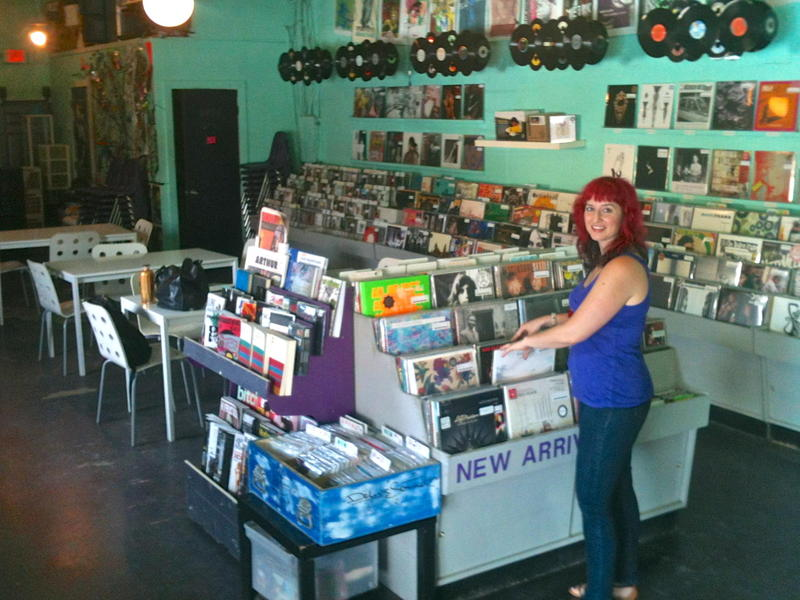 Lauren (Lolo) Reskin opened Sweat Records in 2005.