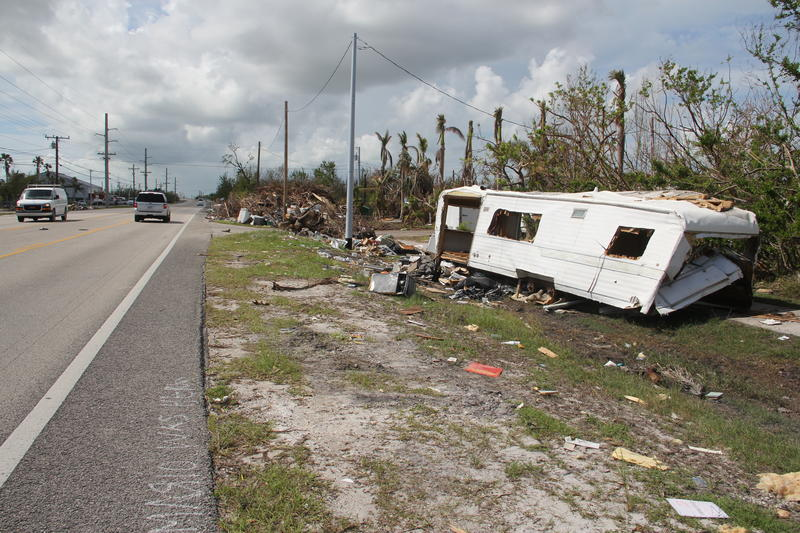 The state has agreed to make another pass at picking up debris on U.S. 1 in the Keys - though that will not include vehicles or mobile homes.