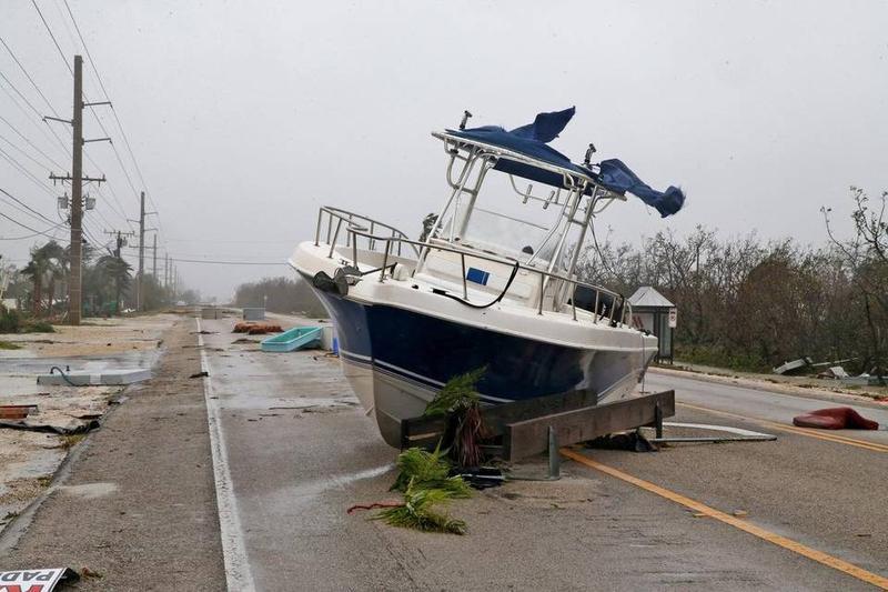 The Keys saw devastation from Hurricane Irma.