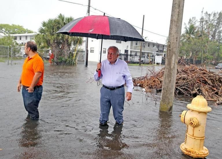 Miami Mayor Tomás Regalado is championing $400 million in government spending to address sea level rise, high housing costs and other livability issues.
