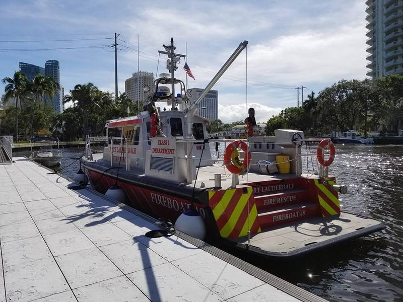 fire rescue boat