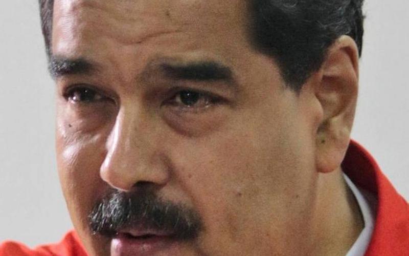 SCAPEGOATER-IN-CHIEF: Venezuelan President Nicolas Maduro