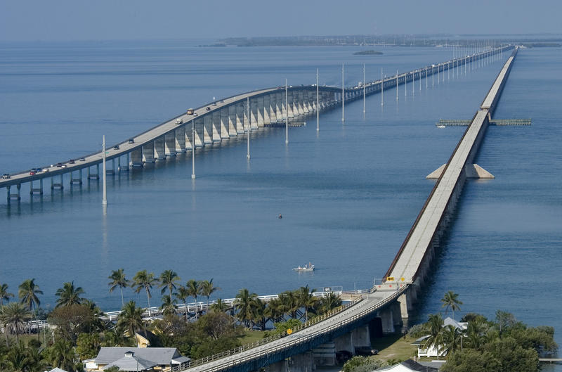 The Keys and the iconic Overseas Highway are a primary selling point — but also now a path that reveals the devastation from Hurricane Irma.