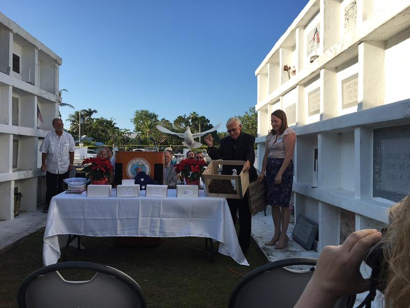 Every year Key West holds a Homeless Persons' Memorial Day service to honor those who died while homeless — or whose remains went unclaimed by family.