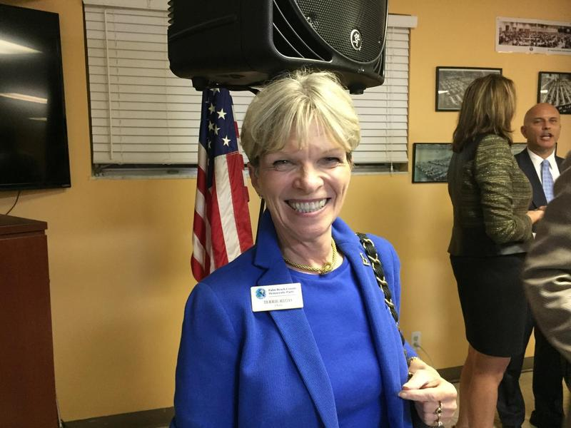 Terrie Rizzo, chairwoman of the Palm Beach County Democrats, is the new leader of the Florida Democrats.