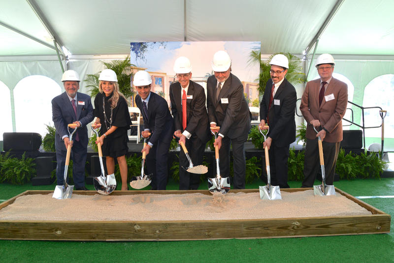 """""""Groundbreaking"""" at the Miami Jewish Health campus for the new EmpathiCare Village"""