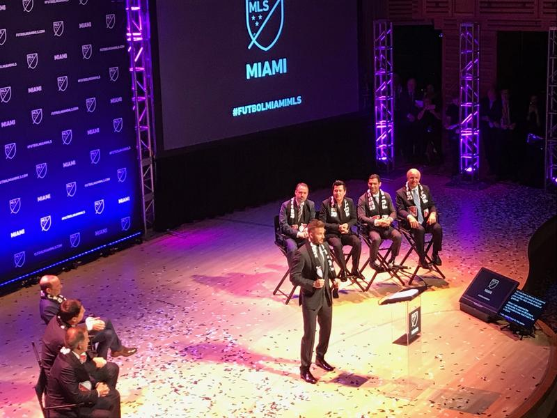 After four years, former Major League Soccer player David Beckham and his partners have been granted the right to establish a professional soccer team in Miami.