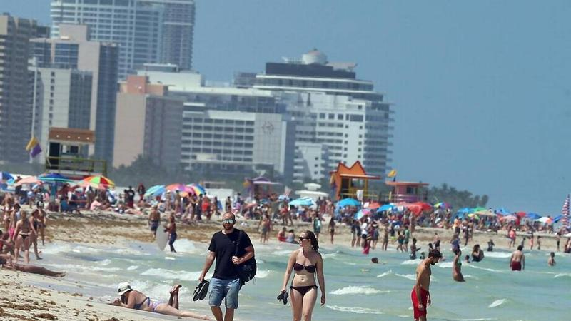 The National Weather Service reported Tuesday that in 2017, Miami tied its 2015 record for hottest year ever recorded.