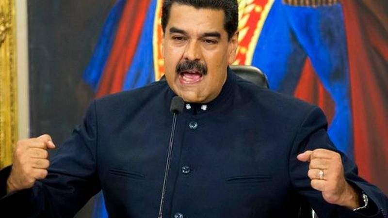 Venezuelan President Nicolas Maduro during a TV address in Caracas last November.