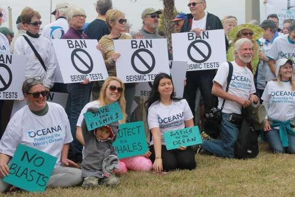 Opponents in St. Augustine of oil and gas exploration
