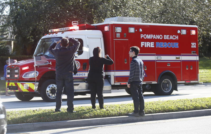 Authorities have confirmed that the shooting at the Marjory Stoneman Douglas High School in Parkland has left at least 14 victims.