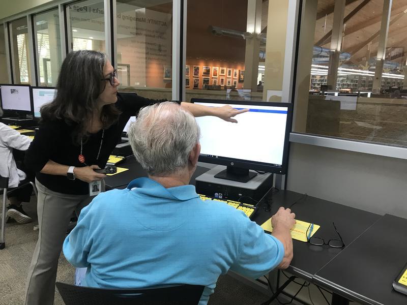 Delray Beach Public Library Computer Class