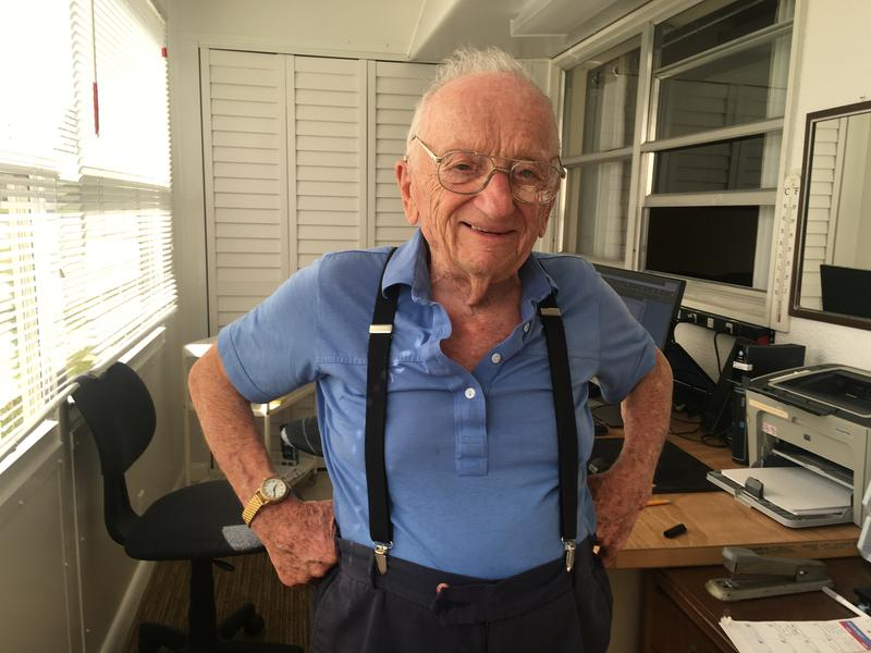 96-Year-Old Ben Ferencz is the last surviving prosecutor of the Nuremberg trials.