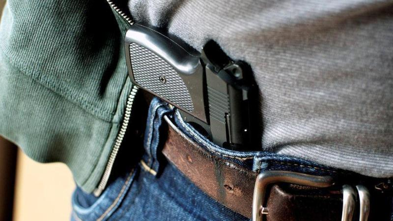 The proposed legislation would allow some concealed-weapons license applications to be approved when background checks have not been completed.