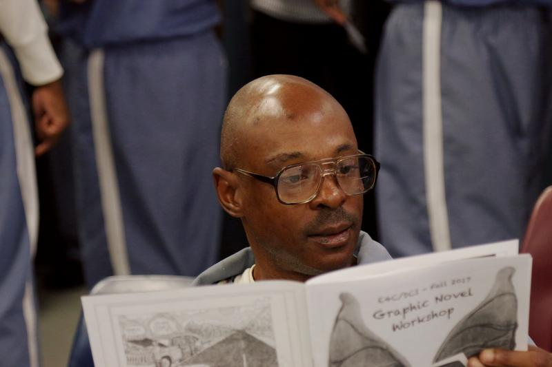 In three years, Exchange for Change's program at Dade Correctional Institution has grown from a single workshop to 15 classes with more than 100 students. Last year, the group offered its first class on  graphic novels.
