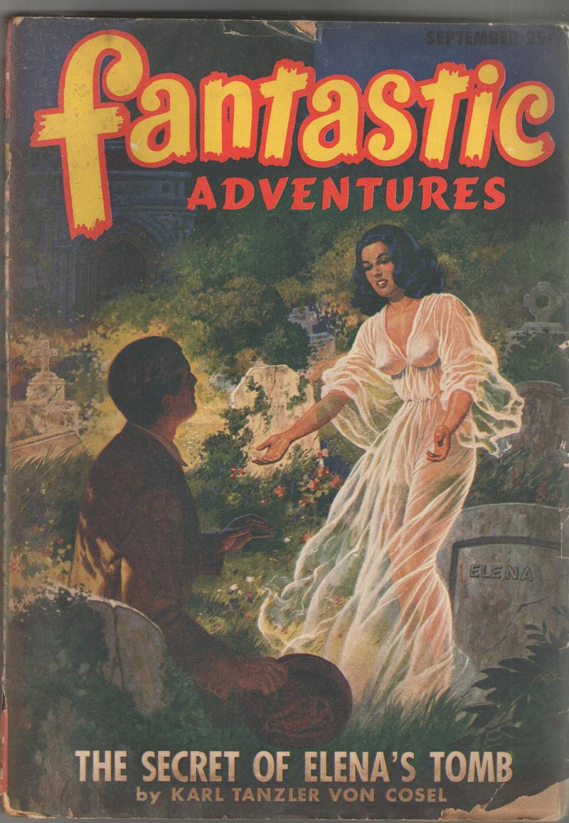 In 1947, von Cosel wrote his own account of the story, which was published in a pulp magazine. It's called 'The Secret of Elena's Tomb'