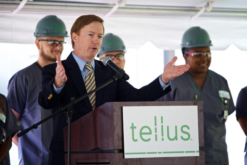 Florida Agriculture Commissioner Adam Putnam touts the importanance of rural communities to the states economy in Belle Glade on Mar. 27, 2018.
